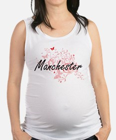 Manchester New Hampshire City A Maternity Tank Top