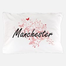 Manchester New Hampshire City Artistic Pillow Case