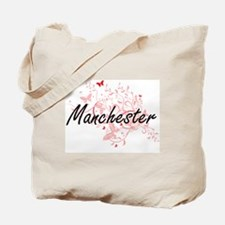 Manchester New Hampshire City Artistic de Tote Bag