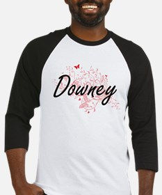Downey California City Artistic de Baseball Jersey