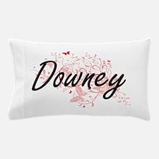 Downey California City Artistic design Pillow Case