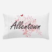 Allentown Pennsylvania City Artistic d Pillow Case
