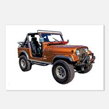 Cute Jeeps Postcards (Package of 8)