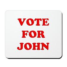 Vote for John Mousepad