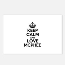 Keep Calm and Love MCPHEE Postcards (Package of 8)