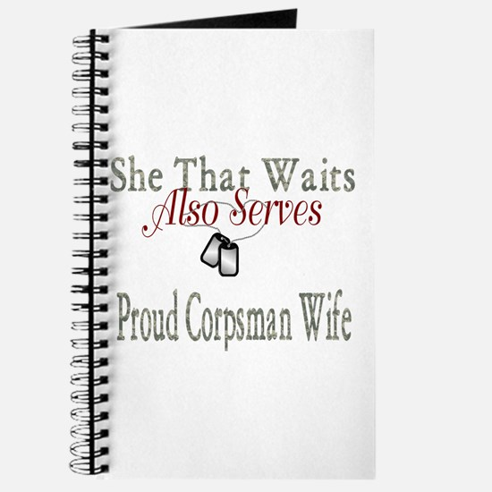 proud corpsman wife Journal