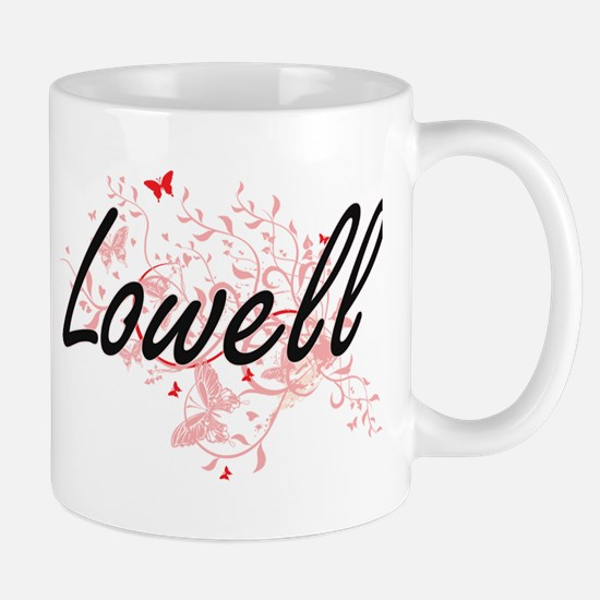 Lowell Massachusetts City Artistic design wit Mugs