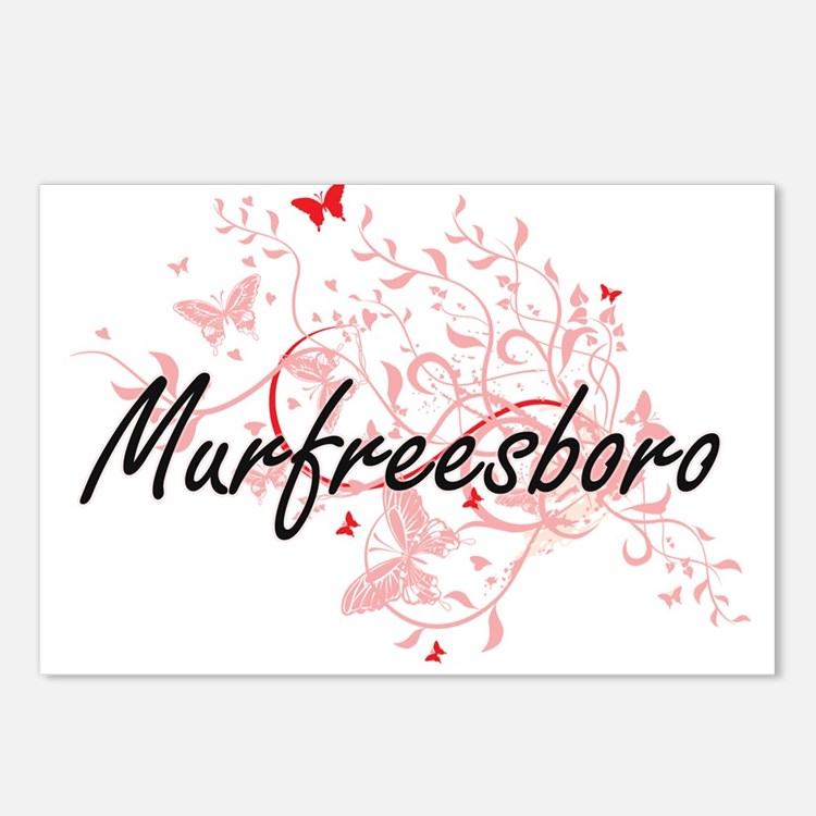 Murfreesboro Tennessee Ci Postcards (Package of 8)