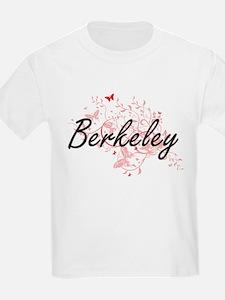 Berkeley California City Artistic design w T-Shirt