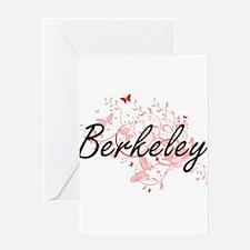 Berkeley California City Artistic d Greeting Cards