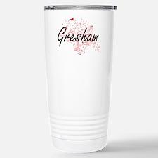 Gresham Oregon City Art Travel Mug
