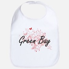 Green Bay Wisconsin City Artistic design with Bib