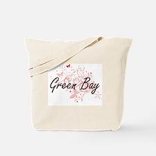 Green Bay Wisconsin City Artistic design Tote Bag