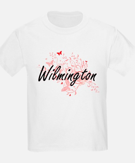 Wilmington North Carolina City Artistic de T-Shirt