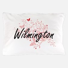 Wilmington North Carolina City Artisti Pillow Case