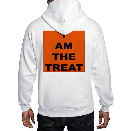 I AM THE TREAT Hooded Sweatshirt