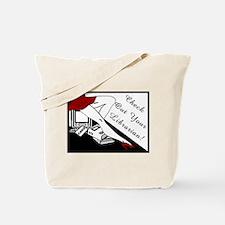 Check Out Tote Bag