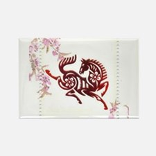 Chinese Papercuts - Horse Magnets