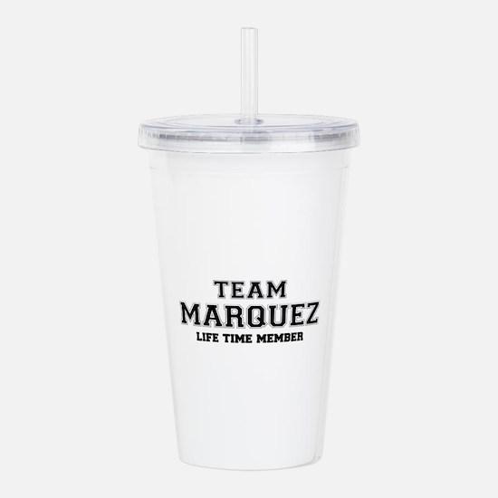 Team MARQUEZ, life tim Acrylic Double-wall Tumbler