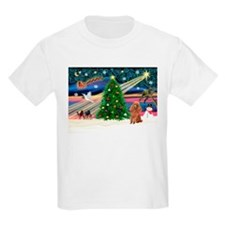 XmasMagic/Toy Poodle (A) T-Shirt