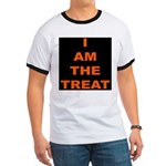 I AM THE TREAT (BLK) Ringer T