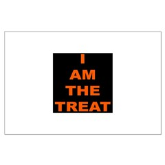 I AM THE TREAT (BLK) Posters