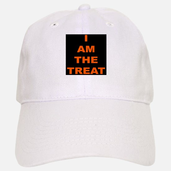 I AM THE TREAT (BLK) Baseball Baseball Cap