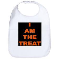 I AM THE TREAT (BLK) Bib