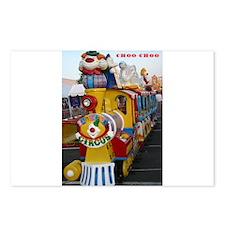 Choo Choo train Postcards (Package of 8)
