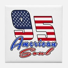 96 American Soul Birthday Designs Tile Coaster