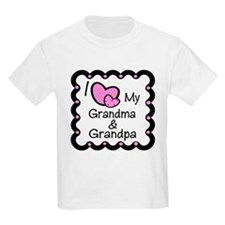I Love Grandpa & Grandma T-Shirt