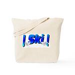 Bearly Ski Tote Bag