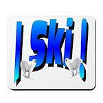 Bearly Ski Mousepad