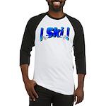 Bearly Ski Baseball Jersey