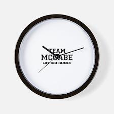 Team MCCABE, life time member Wall Clock
