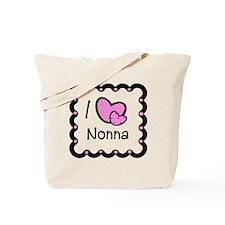 I Love Nonna Tote Bag
