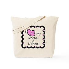 I Love Nonna & Nonno Tote Bag