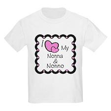 I Love Nonna & Nonno T-Shirt