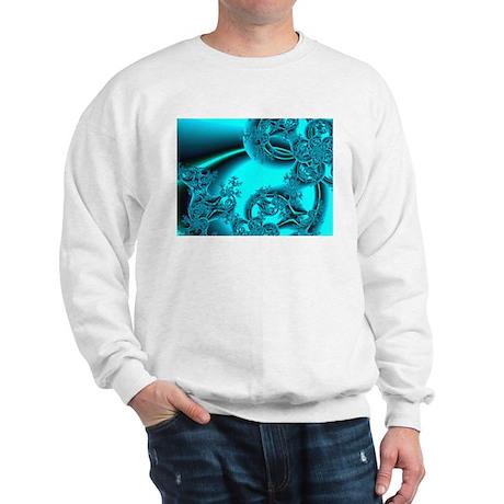 """Daybreak"" Fractal Art Sweatshirt"