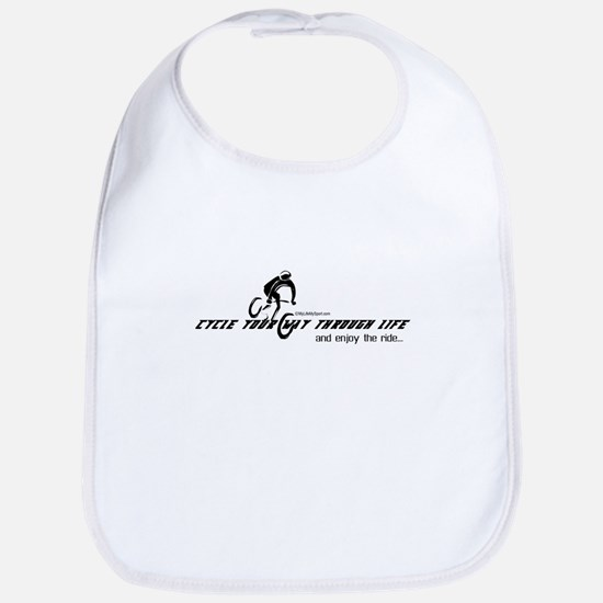 cycle your way through life-and enjoy the ride Bib