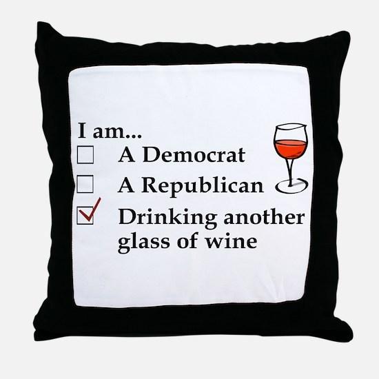Unique Political humor Throw Pillow