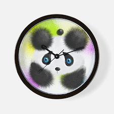 Pandas In Toronto Wall Clock