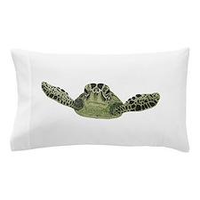 Green Sea Turtle Pillow Case