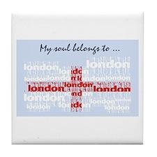 Londoflag Tile Coaster