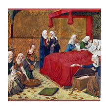 Birth of the Virgin Mary Tile Coaster