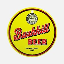 Bushkill Beer-1930's Ornament (Round)