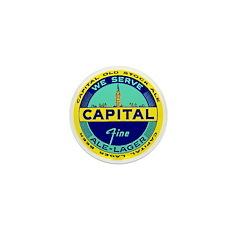 Capital Ale-1940's Mini Button (100 pack)