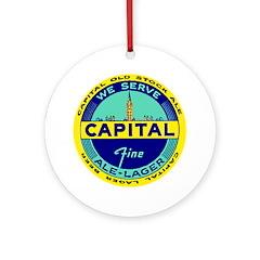 Capital Ale-1940's Ornament (Round)