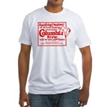 Columbia Brew-1925 Fitted T-Shirt