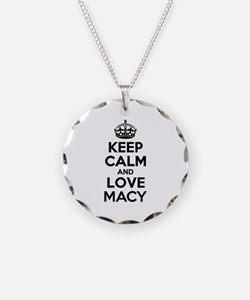 Keep Calm and Love MACY Necklace